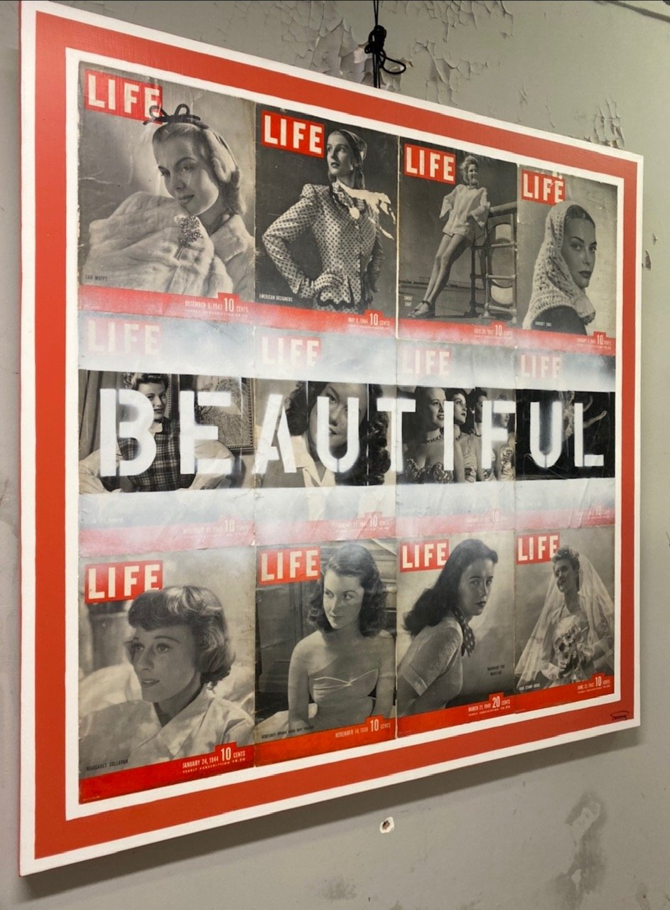 Beautiful Life 48 x48 AVAILABLE